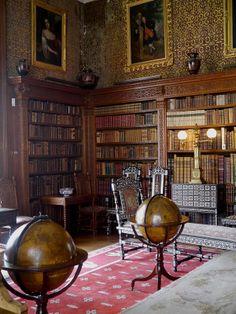 Charlecote Park, Library, Warwickshire