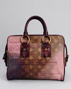 Louis Vuitton LU Monogram Canvas Jokes Tote Bag- Made in France  Bags #Handbags