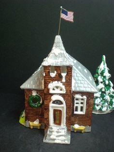 Dept 56 The Original Snow Village School House #50609 D56 1979-82