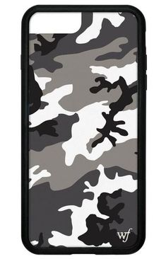 Black Camo iPhone 6/7/8 Plus Case #Iphone6