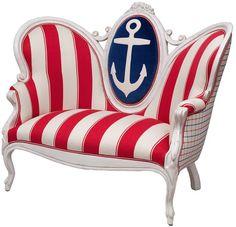 Glam nautical design - love!