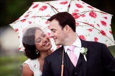 Rainy Wedding Day | Southern Wedding Inspiration