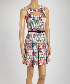 Another great find on #zulily! Imeldas Closet Shoes Belted Celia Dress #zulilyfinds