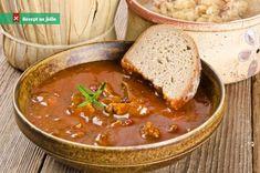 Gulášová polévka z mletého masa recept Thanksgiving Leftovers, Thanksgiving Recipes, Holiday Recipes, New Recipes, Soup Recipes, Cooking Recipes, Recipies, Goulash Soup, Soup Kitchen