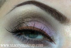 """New look """"Gilded lilac""""! My step by step tutorial with pictures is up on my blog. Make sure to check it out to find how I did it and all the products I've used:  http://www.staceymakeup.com/2012/01/tutorial-gilded-lilac.html"""