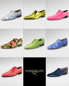 Voor elke bruidegom bij zijn trouwpak de perfecte kleur schoenen. Deze zijn van Mascolori Nl