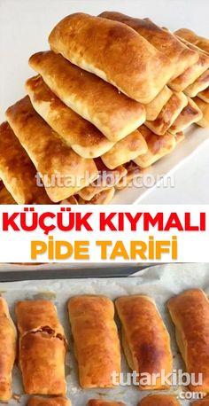 Dough like fluff fast - Pastry Turkish Pizza, Turkish Recipes, Ethnic Recipes, Pita Recipes, Turkish Breakfast, Breakfast Items, Frozen Yogurt, Hot Dog Buns, Food And Drink