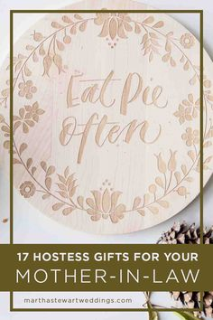 Gifts For Mom Before Wedding : Wedding Details on Pinterest Martha Stewart Weddings, Unique Wedding ...