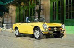 1968 - Honda S800 cabriolet  Numéro de châssis: 1005908    Carte grise