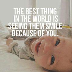Mom meme - baby smiles! #cute #motherhood #hotmomsclub