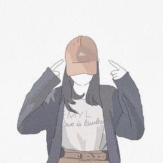 こーゆー色の帽子🧢 欲しい…🤤 (@funa.____27_ ) #すみれなのイラスト Tmblr Girl, Dibujos Cute, Cartoon Art Styles, Cute Cartoon Wallpapers, Anime Art Girl, Art Sketchbook, Aesthetic Art, Cute Drawings, Cute Art
