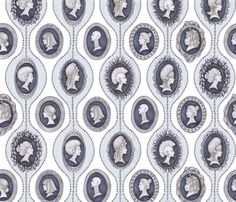 Hair of an Era fabric by ceanirminger on Spoonflower - custom fabric