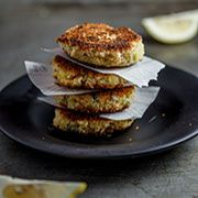 Norwegian Salmon Fish Cakes With a Crunchy Salad