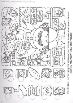 NUMEROS – Espe 2.2 – Webová alba Picasa Kindergarten Worksheets, Preschool Activities, Hidden Picture Puzzles, Hidden Pictures, Pre Writing, Activity Sheets, Kids Education, Teaching Kids, Coloring Pages