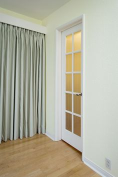 Charmant Alternative To Closet Door Ideas, Replace Sliding Closet Doors With  Curtains, How To Hang