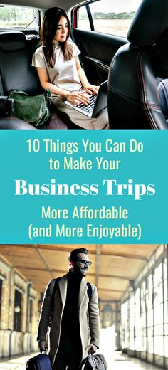 10 Things You Can Do to Make Your Business Trips More Affordable (and More Enjoyable) a lot for business? By taking the time to explore your money-saving options, finding the best deals to claim, earning discounts on your flights and accommodations, and choosing the right options to use, it gets easier and becomes more rewarding. #businesstrip #businesstravel #travel #flights #hotels #travelperks #travelapps