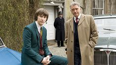 Inspector George Gently and John Bacchus Cars Poster