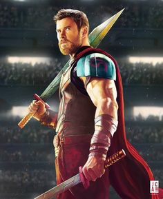 "2,284 Likes, 90 Comments - Jackson Caspersz Art (@jackson_caspersz) on Instagram: ""#56 Finally finished Thor and watched the Movie in the same day One of the best and funniest…"""