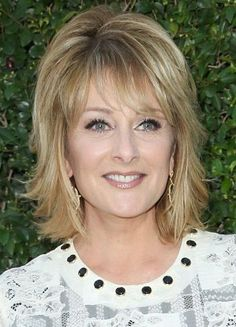Long Celebrity Hairstyles for Women Over 60-Christina Ferrare