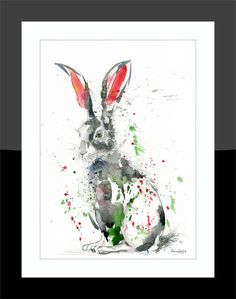 Printed to a high standard using the latest Epson Ink technology that's made to last. Epson Ink, Packaging Supplies, Hare, Fine Art Prints, Illustration, Artwork, Painting, Color, Design
