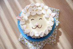 Gâteau mouton facile