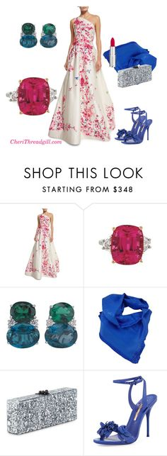 """""""Glamorous !"""" by cherithreadgill on Polyvore featuring Monique Lhuillier, Christina Addison, Louis Vuitton, Edie Parker, Sophia Webster, Givenchy, influencer and CheriThreadgill"""