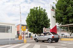 In nur 55 Stunden und 2460 zurückgelegten Kilometern haben sie ihr Ziel erreicht: #SEAT in #Barcelona!