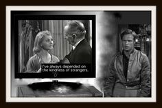 Although Williams's protagonist in A Streetcar Named Desire is the romantic Blanche DuBois, the play is a work of social realism. Blanche explains to Mitch that she fibs because she refuses to accept the hand fate has dealt her.