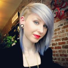 undercut. growing my hair out to something like this or longer.