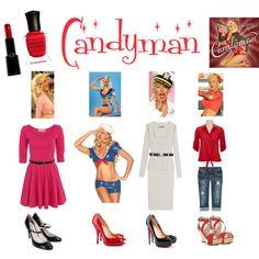 """Candyman"" by Christina Aguilera, 2007. Music video has a fun 1940s vibe."