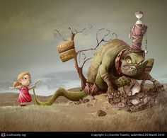 Title: No Monster  Name: Davide Tosello  Country: Italy  Software: Photoshop