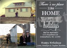 We've Moved Custom Christmas Card  Photo by TheIronTractor on Etsy, $9.00