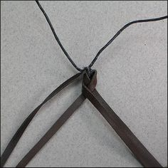 - 4 Strands : Leather Braiding by John