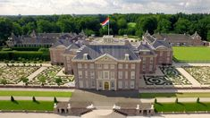 Paleis Het Loo in Apeldoorn, The Netherlands (4K)