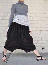 Comme Des Garcons Black Fleece Polyester Drop Crotch Harem Pants S Japan