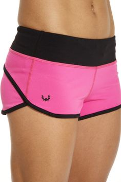 WOD Gear Clothing - Hot Pink Womens Exercise Shorts, $52.00 (http://www.wodgearclothing.com/hot-pink-womens-exercise-shorts/)