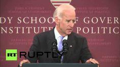 Rede von US-Vize Präsidenten Joe Biden die Europa erschüttern sollte