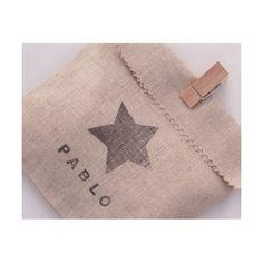 Bolsa de tela personalizada con pinza de SweetCo