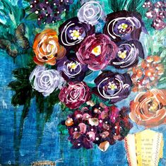 Floral flow with Butterflies Paper vases offering food and home for comfort. Vases may very in shape and size yet all are welcome. 4 of 4 wood board Vertical Vase -each sold separately Paper Vase, Vases, Butterflies, Mixed Media, Shape, Board, Flowers, Painting, Painting Art