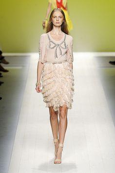 Girly Romantic Ruffles  Look that I Like❤  Blugirl SpringSummer 2012 Fashion