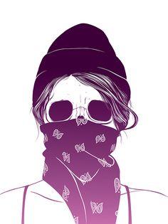 Skull Girls Illustations by Gerrel Saunders