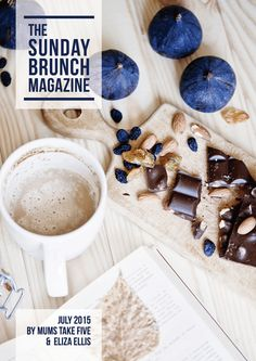 The Sunday Brunch Magazine - July 2015 Edition by Eliza Ellis & Mums Take Five featuring loads of DIY projects from all your favorite bloggers!
