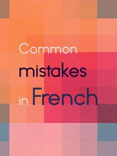 French and English have some vocabulary in common and share grammatical similarities, but they are undoubtedly different languages.