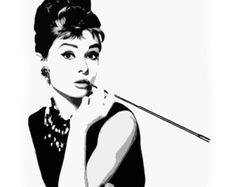 audrey hepburn poster on Etsy, a global handmade and vintage marketplace.
