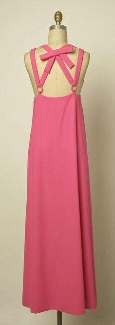 Evening dress 1968, Jacques Tiffeau