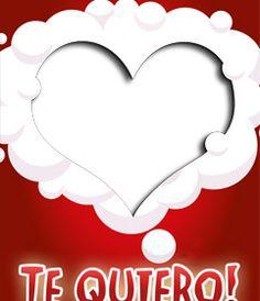 Haz una postal de amor con tu foto y este marco en forma de corazón, rodeado de nubes blancas sobre un fondo rojo. xxx Para enamorados. No dejes de visitar los muchos efectos de temática amorosa de los que dispone la página. http://www.fotoefectos.com