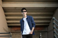 The black-haired boy: AT SUNSET #menswear #fashion #black #outfit #blogger #mensfashion