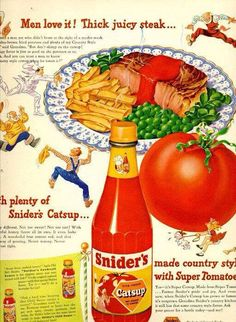 Snider's Catsup Reproduction Country Sign 12×18