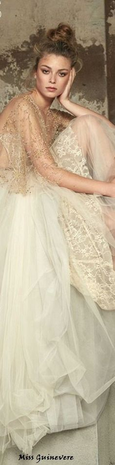 Ivoire, Elie Saab, Lady, Pretty Dresses, Ball Gowns, Wedding Gowns, Chiffon, Feminine, Glamour
