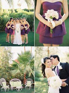 the parker palm springs wedding | diane   alex